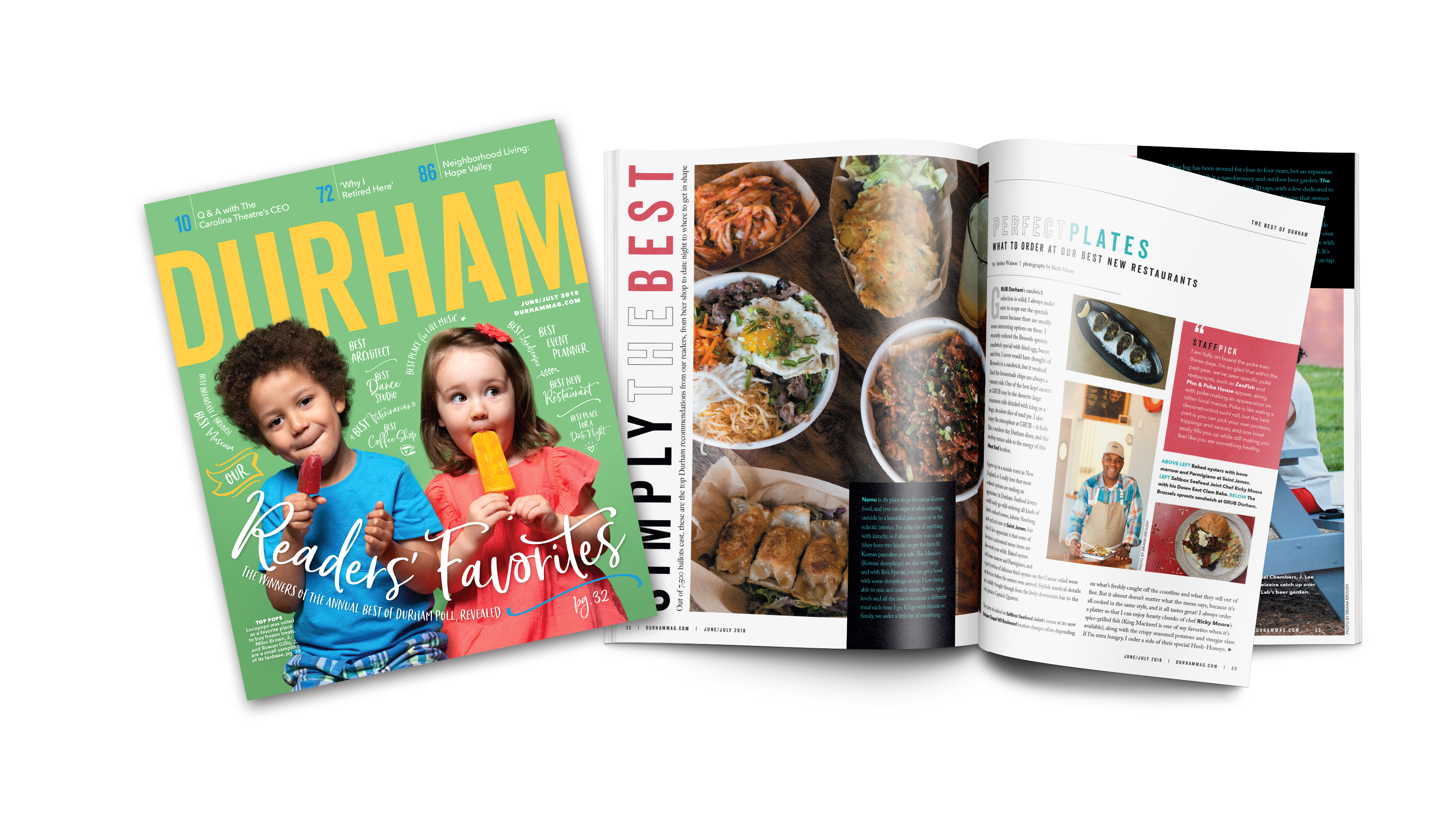 7683437882290 June July 2018 – The Best of Durham Issue