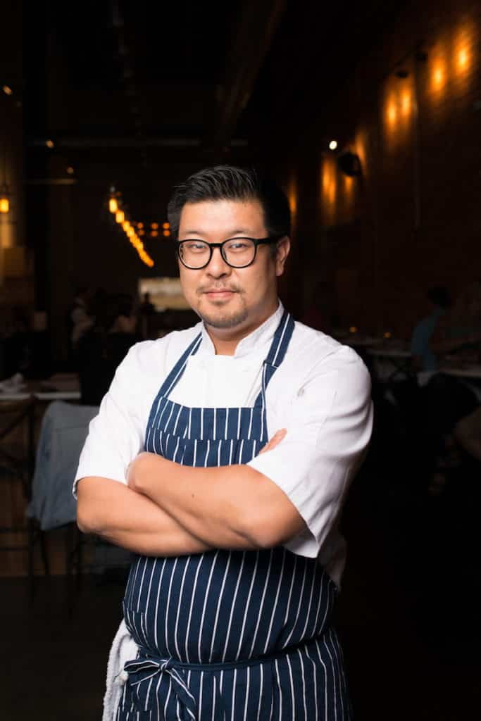 Owner/chef Jimmy Kim is from Seoul, South Korea.
