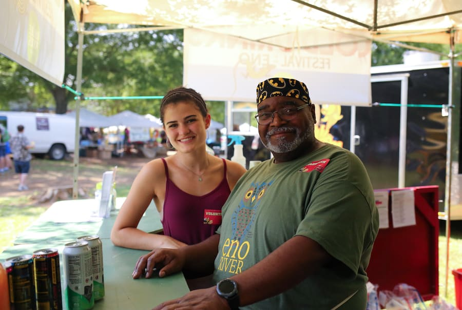 The Festival for the Eno draws thousands of folks to the Eno River to sing, dance and make merry with great food and crafts.