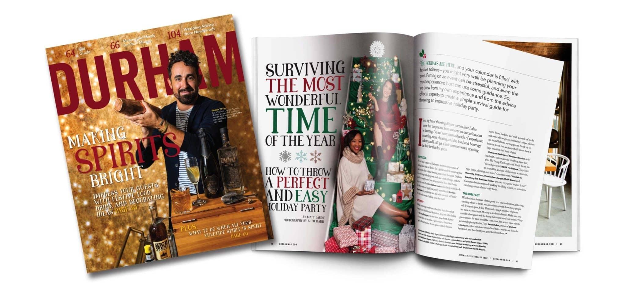 Dec '19/Jan '20 Durham Magazine