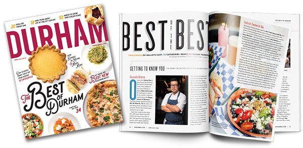 The June/July 2019 Best of Durham issue