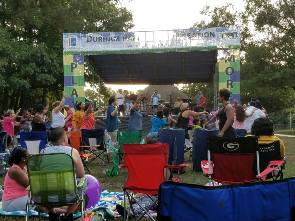 Rock the Park kicks off this weekend with a performance by Dwayne Jordan Quartet at Duke Park on Friday at 6pm