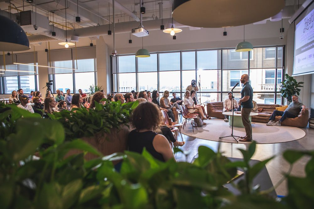 Health and Happiness Storytelling Series at WeWork Durham