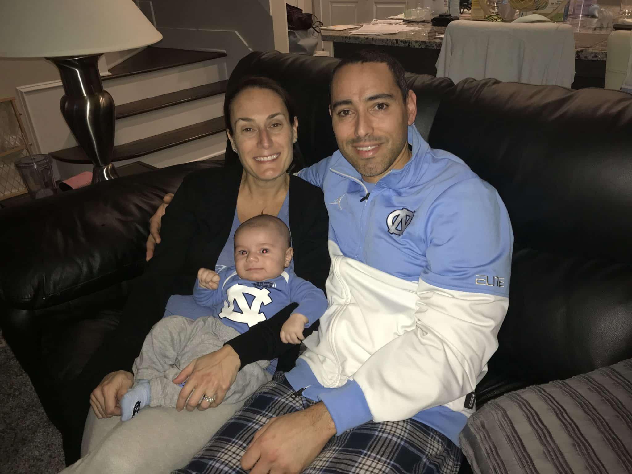 Nestor Paonessa and family, Brain Tumor Awareness Month