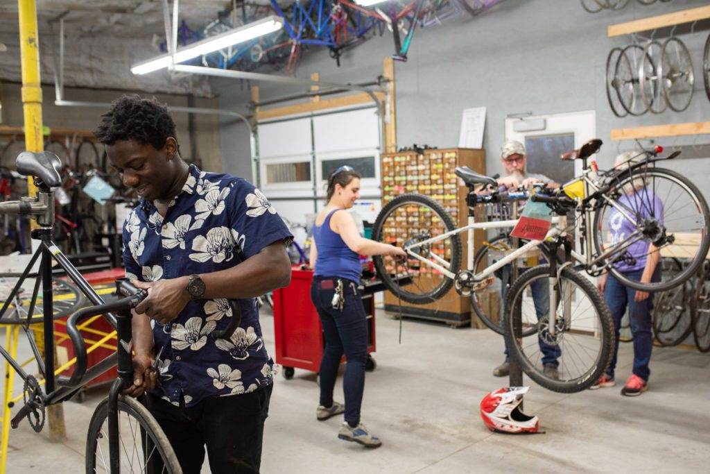 Durham Bike Co-op workshop