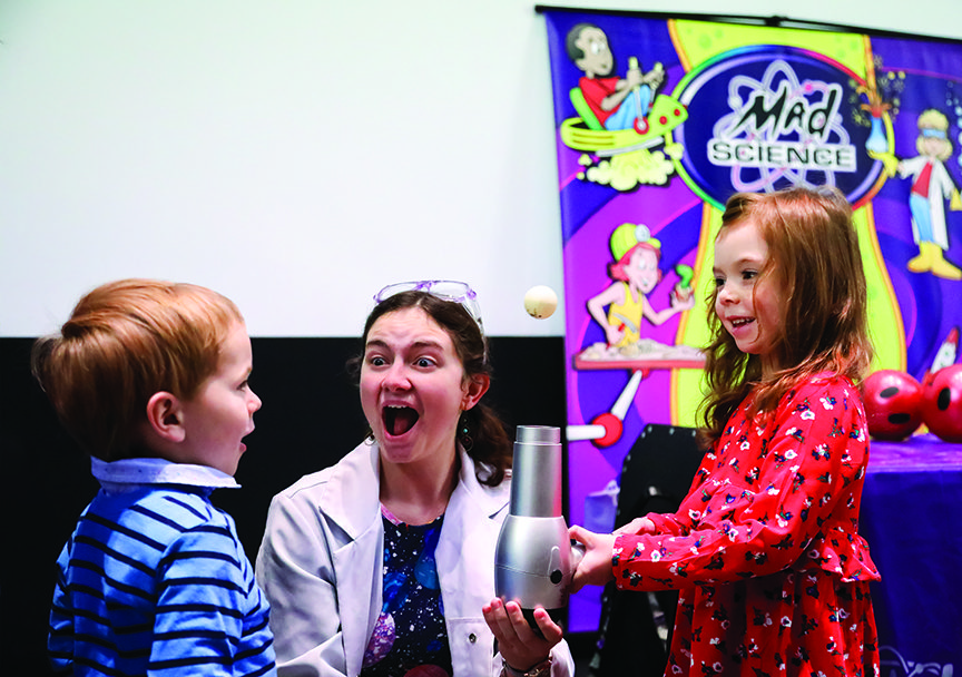 The Mad Science event during The Carolina Theatre's Family Saturday Series