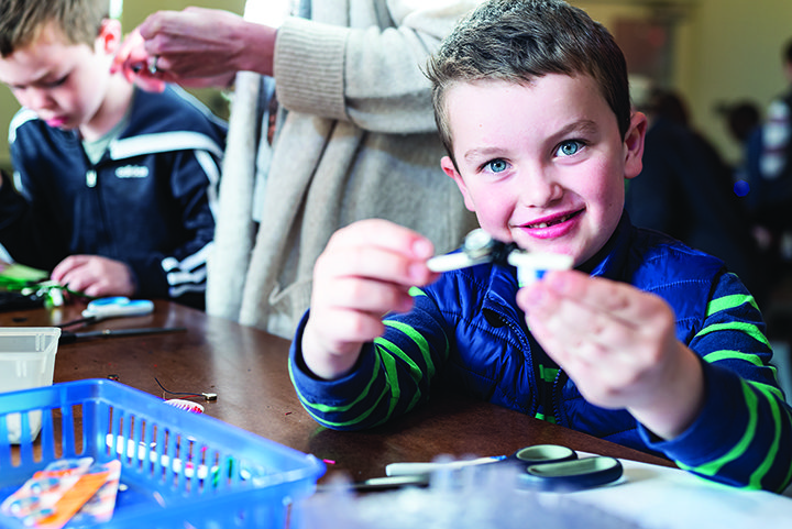 Tinkering Family Workshop at the Museum of Life and Science is fun for the whole family.