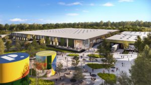 Vision for Park Point Creative Office Space Recreational Campus RTP