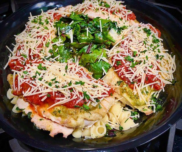 Chicken parmigiana Comfort Cuisine