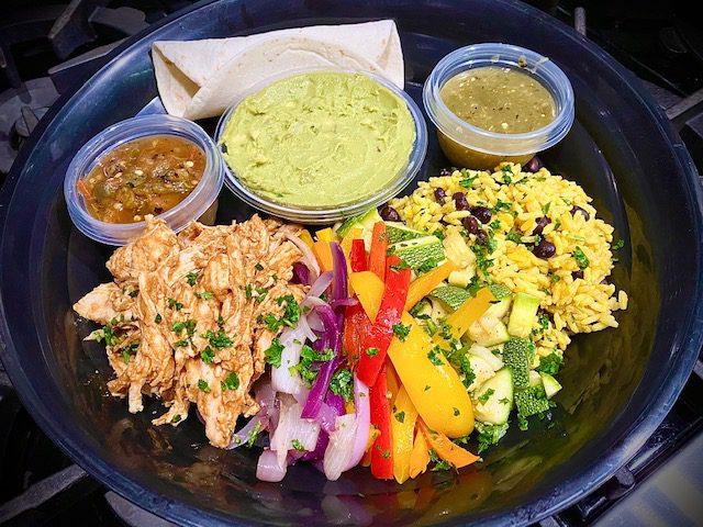 Chicken mole tacos Comfort Cuisine