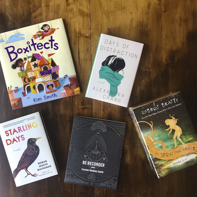Book recommendations from Epilogue in Chapel Hill