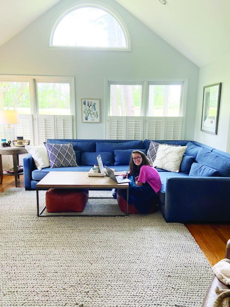 Foleys family room