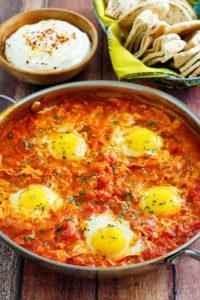 Meals to make at home: Shakshuka