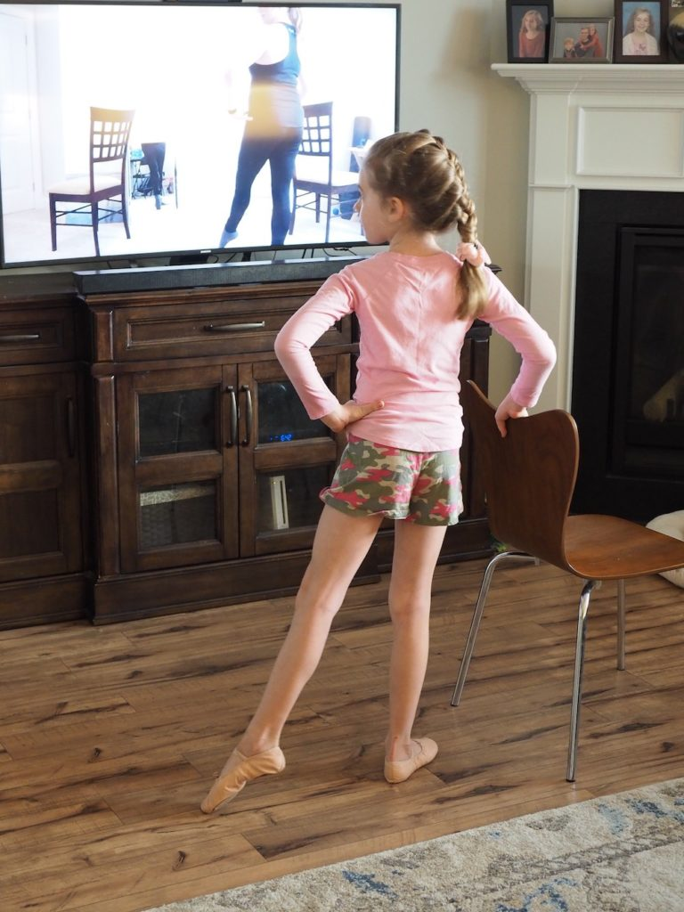 To The Pointe dance company offers virtual lesson during the COVID-19 quarantine