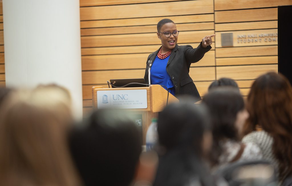 Dr. Bahby Banks says leadership means passion