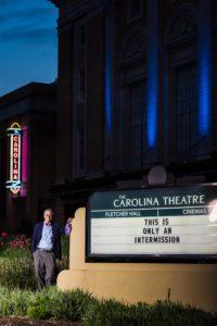 Mayor Steve Schewel at The Carolina Theatre