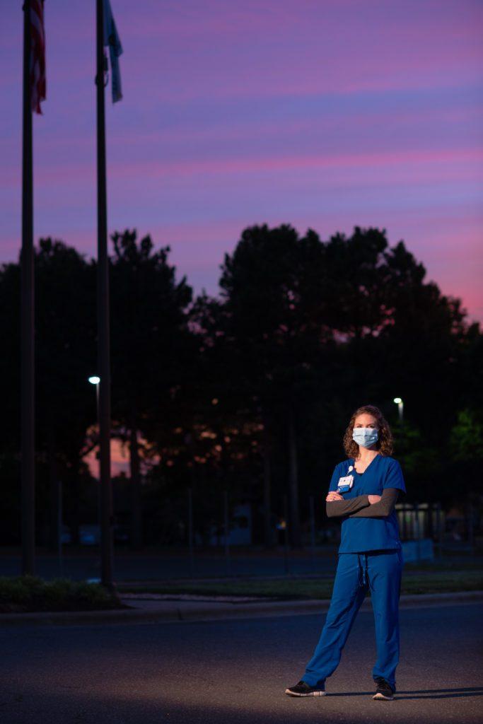 ICU Nurse at Durham Regional in the morning