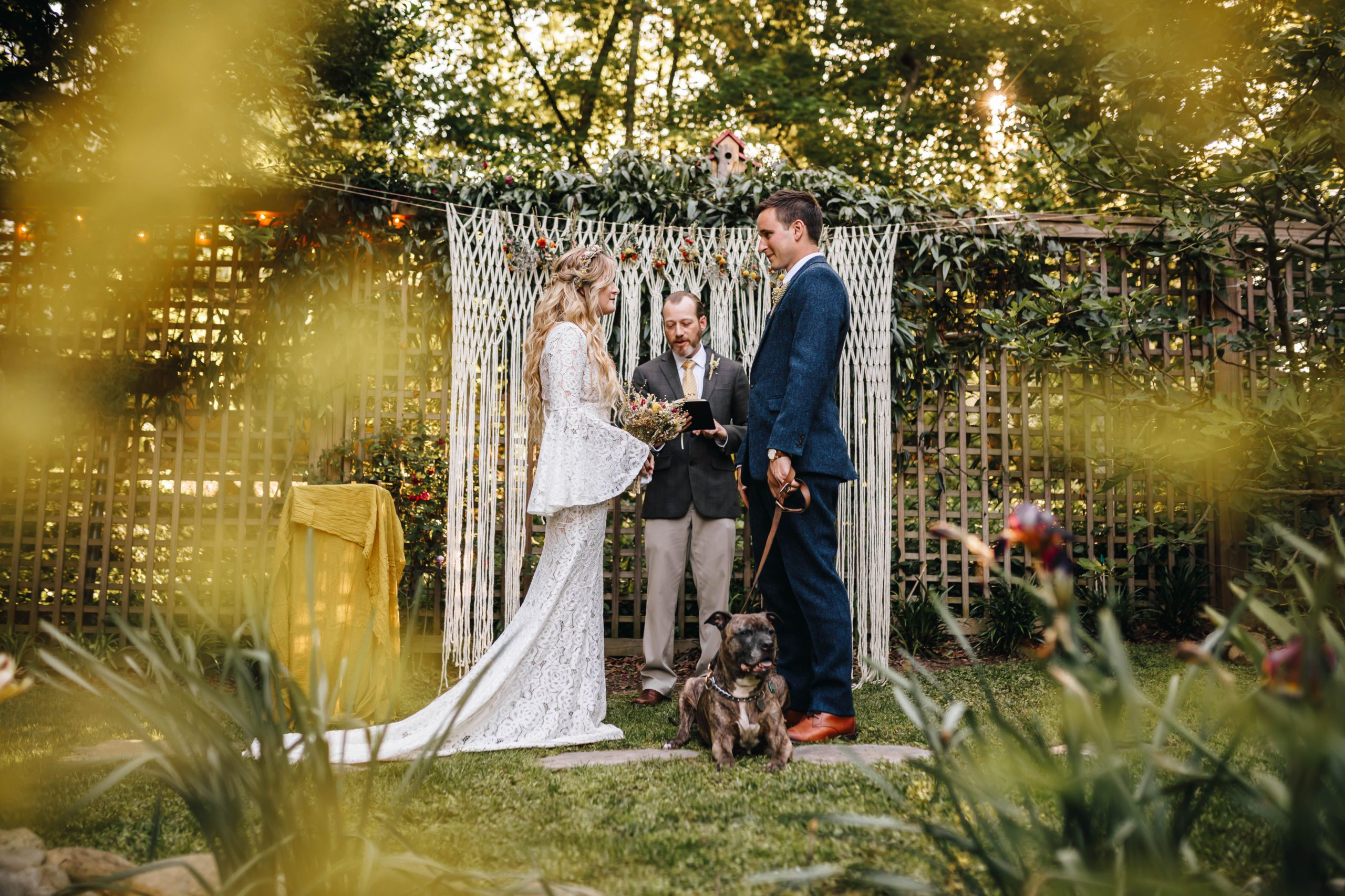 A Backyard Wedding Story