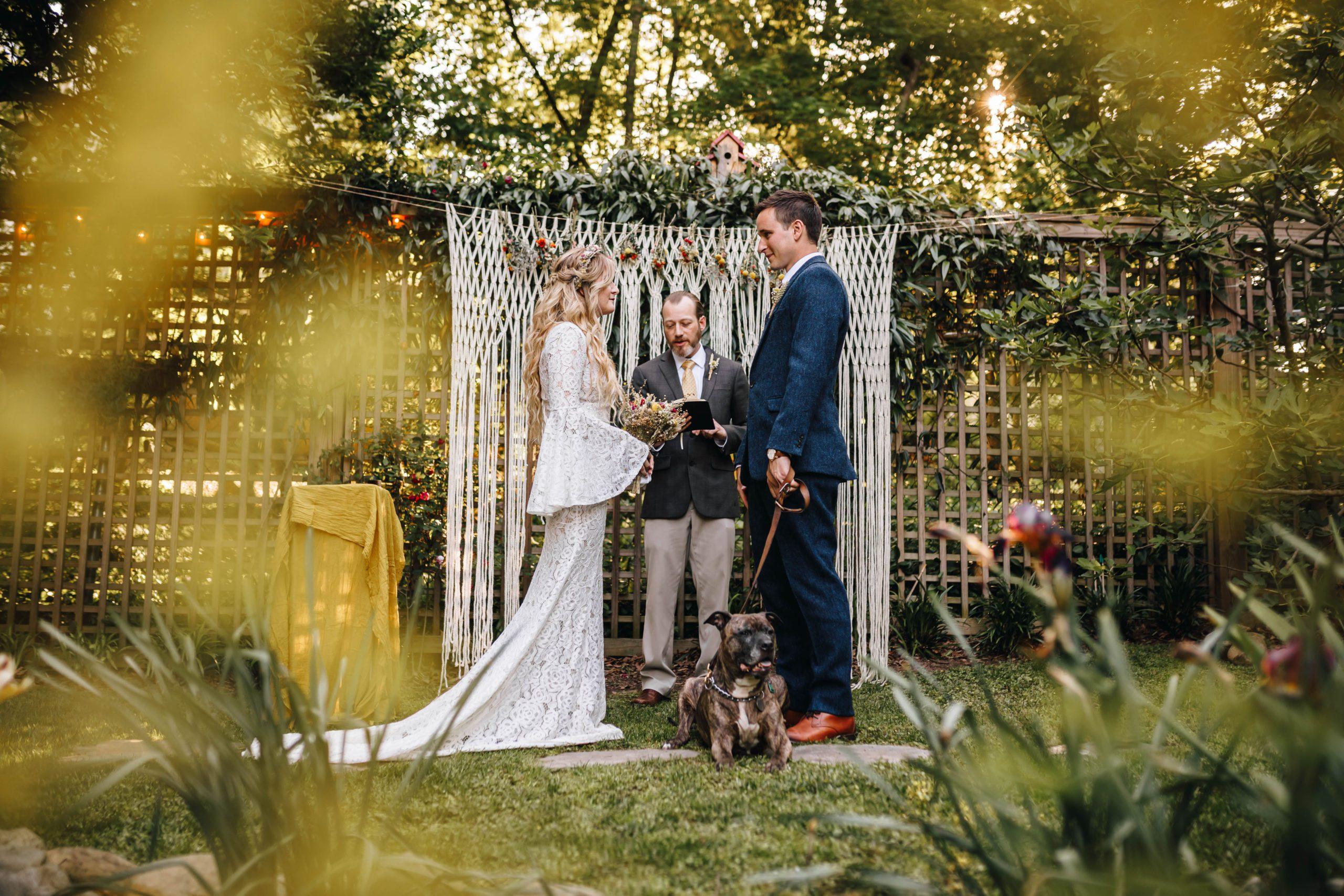 A Backyard Wedding Story