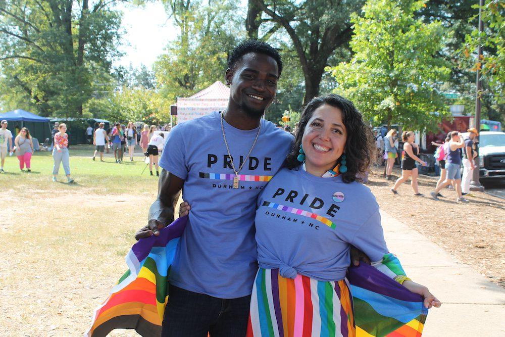 Pride volunteers