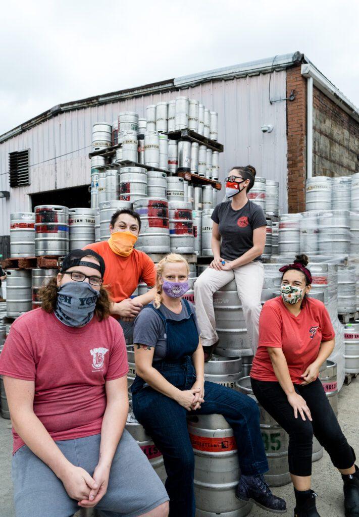 Fullsteam Brewery employees