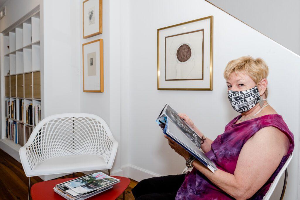 Toni Mason, owner of Sew Crafty