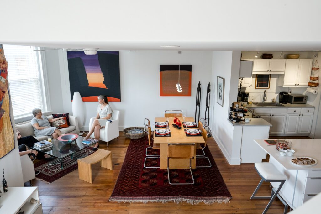 Lyn McClay's downtown condo