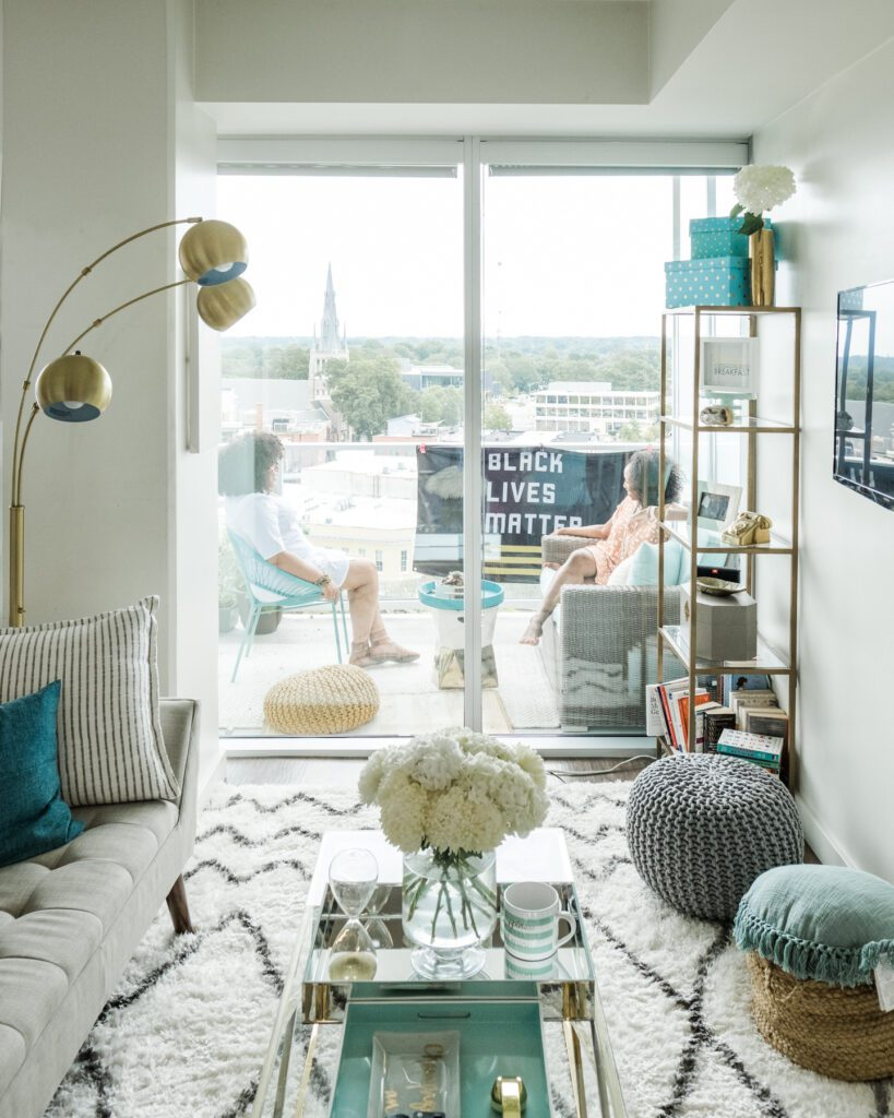 Nicole Oxendine's downtown apartment