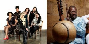 Duke Performances' Black Atlantic series features musicians Jane Bunnett & Maqueque and Ballaké Sissoko