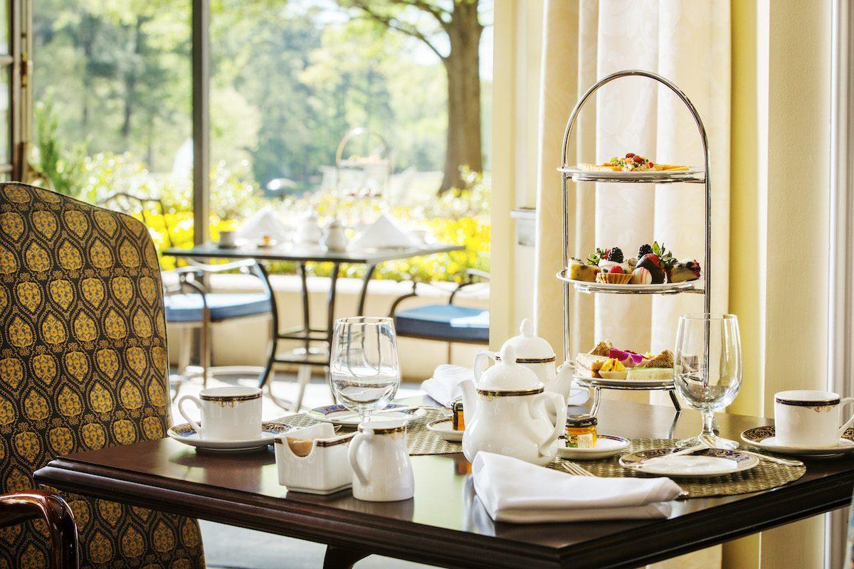 Afternoon tea at Washington Duke Inn & Golf Club