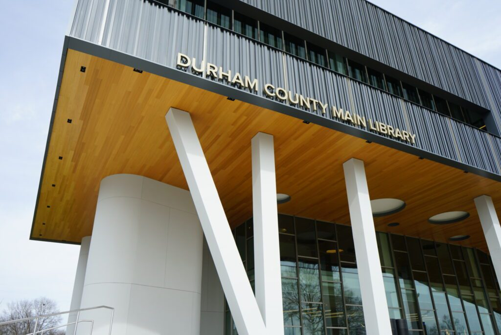 Durham County Main Library exterior