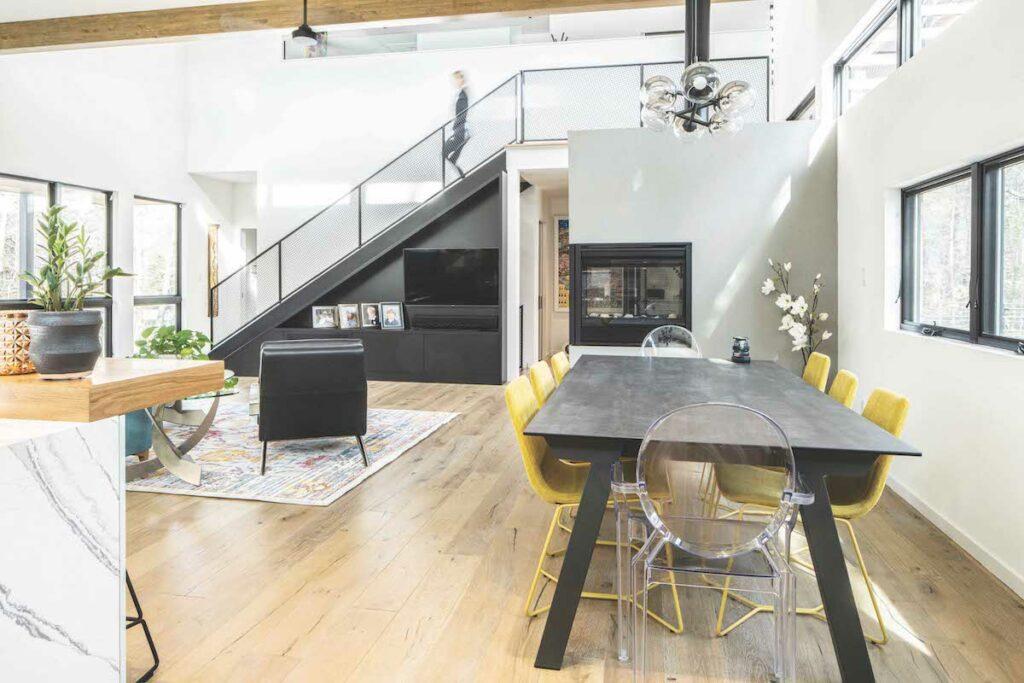 Modernist homes in Durham