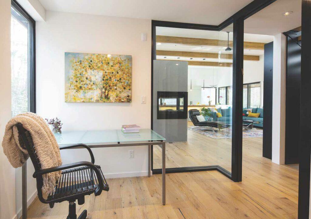 Modernist homes in Durham – office