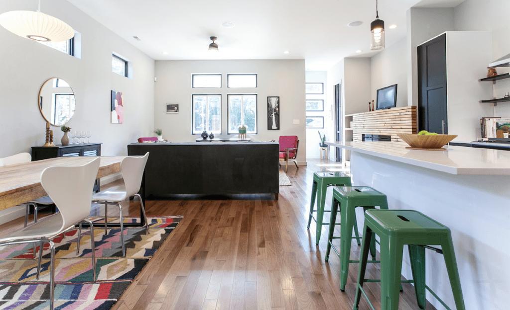 Modernist homes in Durham – kitchen
