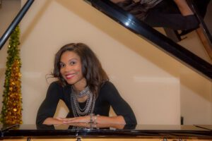 Jeannetta Hopkins, direcotor of Bull City Music School and curator of Claxton Powell Music Festival.