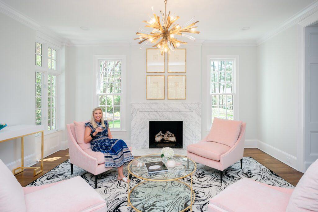 Fancy Hogan in her home