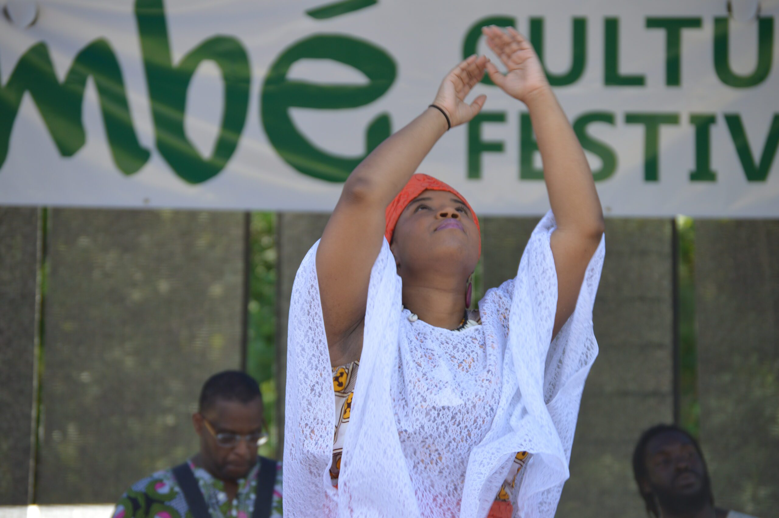 A snapshot from last year's Bimbe Festival, celebrating African and African American culture. Photo courtesy of Durham Parks & Recreation