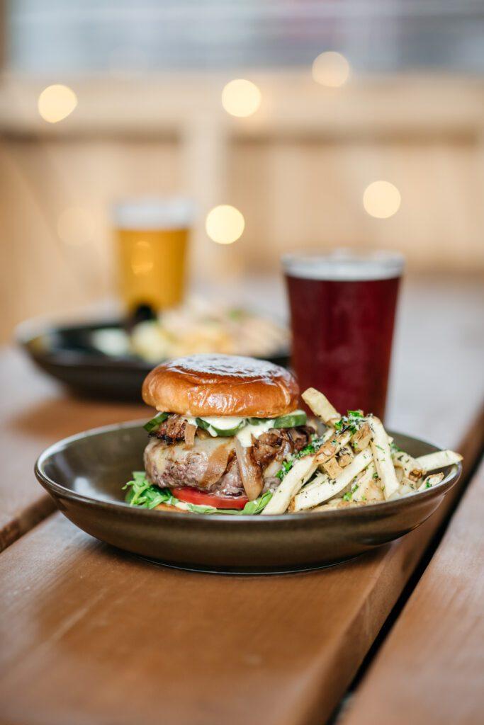 Burger at Honeysuckle at Lakewood