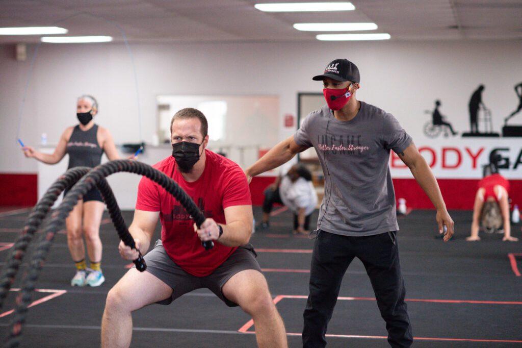The BodyGames Center fitness center