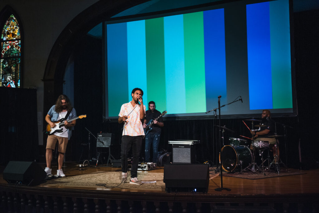 the return of live performances at the Hayti Heritage Center