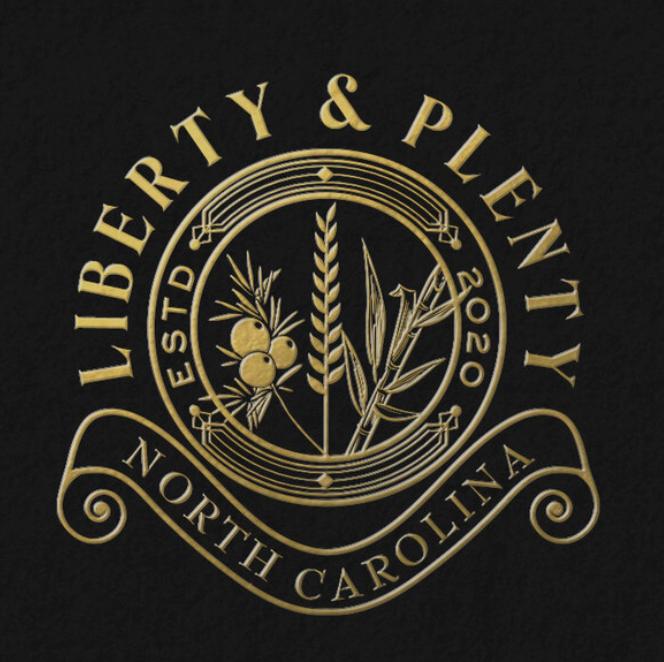 Liberty & Plenty Distillery logo