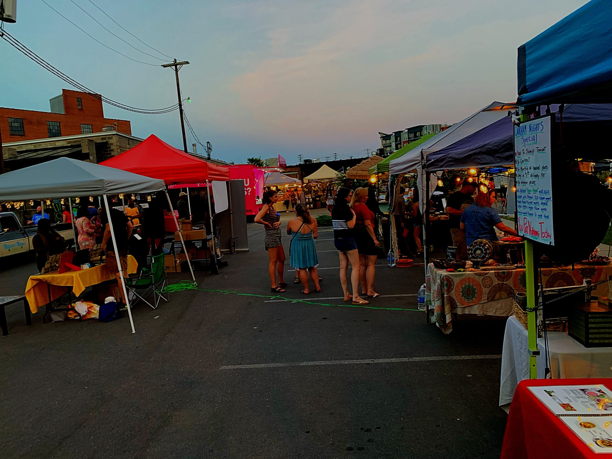 weekend durham night market