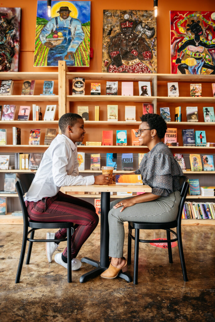 Rofhiwa Book Cafe founders