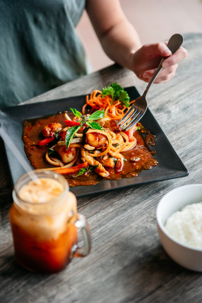 spicy dishes and drinks in Durham – Thai @Main Street