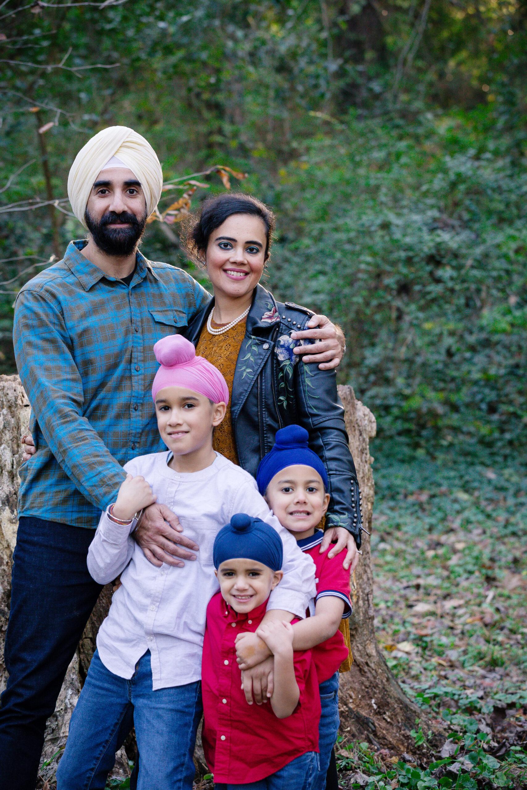 Shanny Kohli and her family